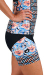 Women's Aurora Azzuro Two Piece Tri Short