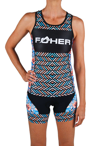 Women's Aurora Azzuro Two Piece Tri Top