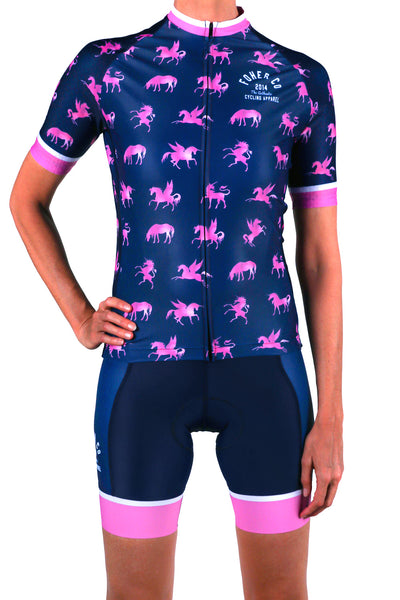 Women's Unicorn Pegasus Cycle Jersey