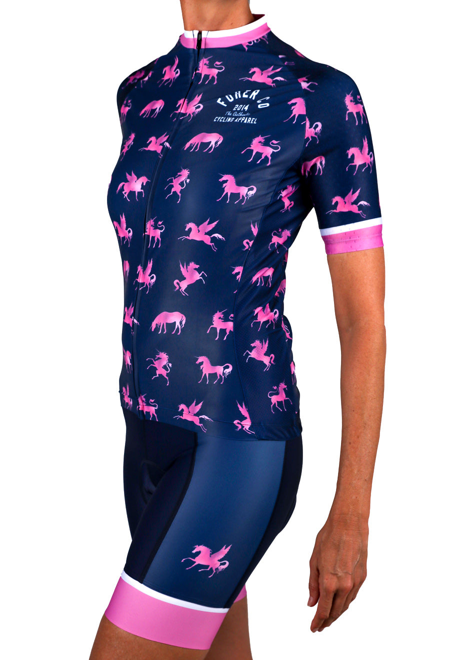 Women's Unicorn Pegasus Cycle Bibshort