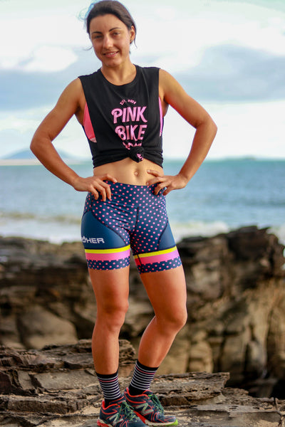 Women's Electro Polka Run Hipster