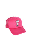 FOHER Co Pink F-Logo Trucker