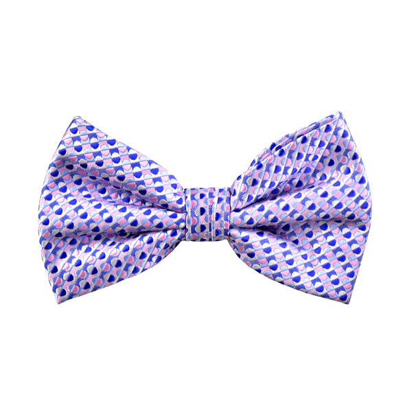 Printed Billy Bow Tie in Lavender Rose - Giorgio Mandelli® Official Site | GIORGIO MANDELLI Made in Italy