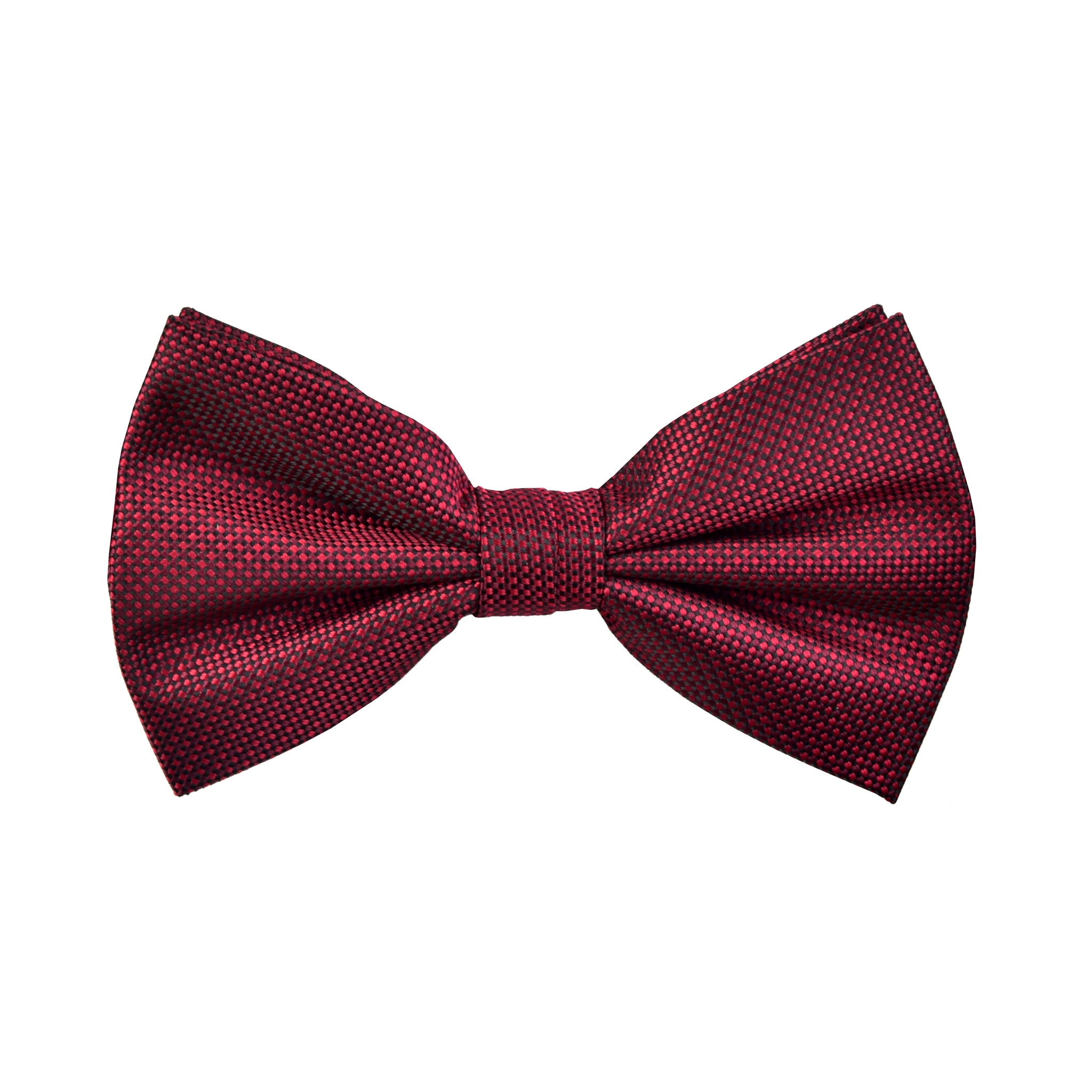 Textured Robin Bow Tie in Burgundy Red - Giorgio Mandelli® Official Site | GIORGIO MANDELLI Made in Italy