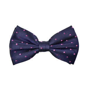 Spotted Marley Bow Tie in Pink - Giorgio Mandelli® Official Site | GIORGIO MANDELLI Made in Italy