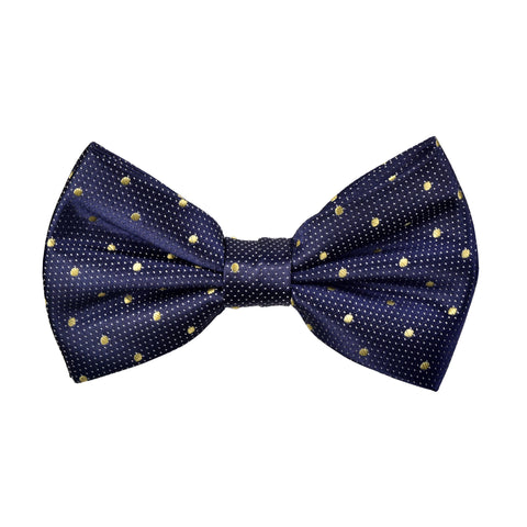 Spotted Marley Bow Tie in Yellow - Giorgio Mandelli® Official Site | GIORGIO MANDELLI Made in Italy