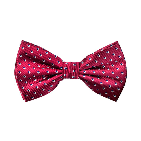 Spotted Selby Bow Tie in Red - Giorgio Mandelli® Official Site | GIORGIO MANDELLI Made in Italy