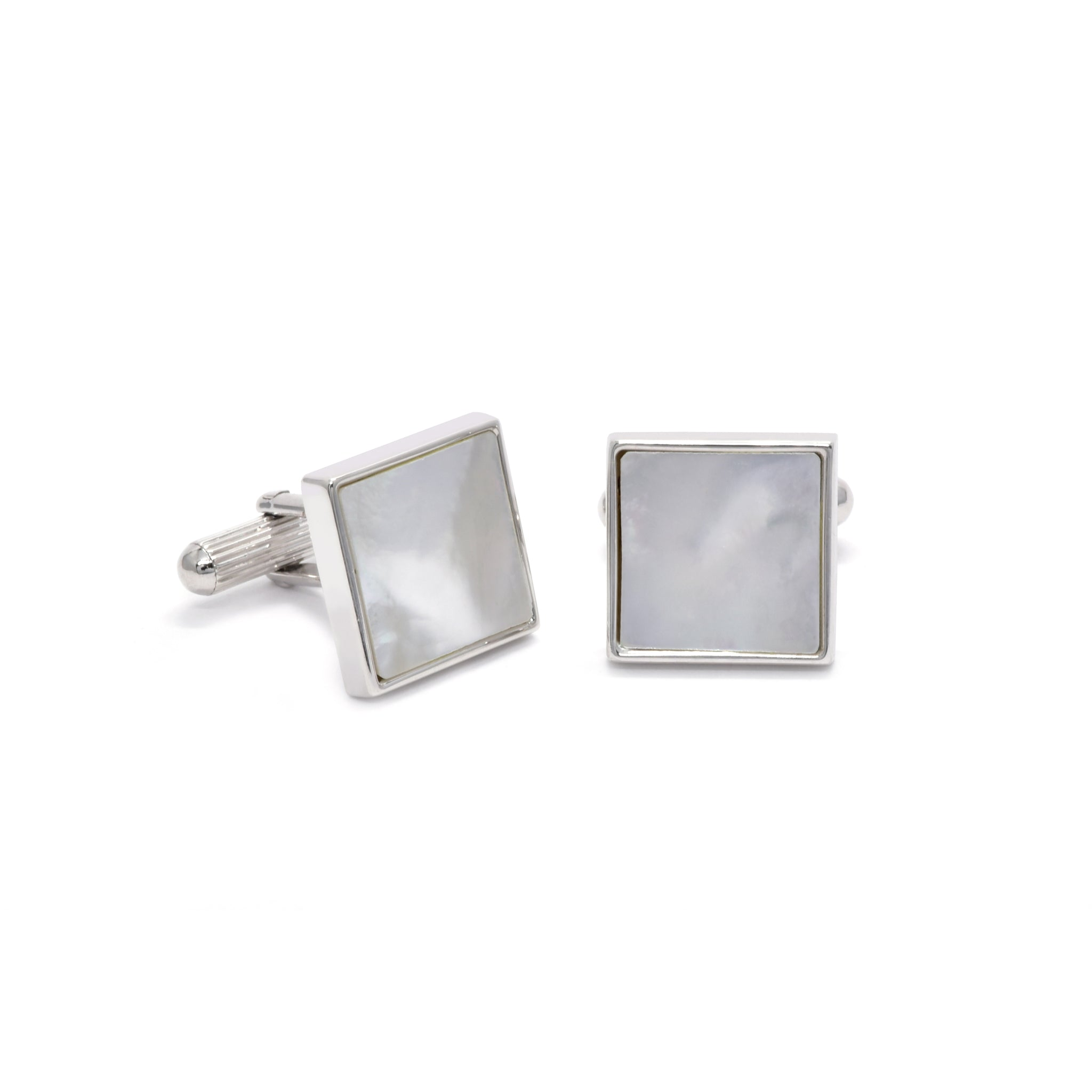 Michael Cufflinks with Mother of Pearl - Giorgio Mandelli® Official Site | GIORGIO MANDELLI Made in Italy