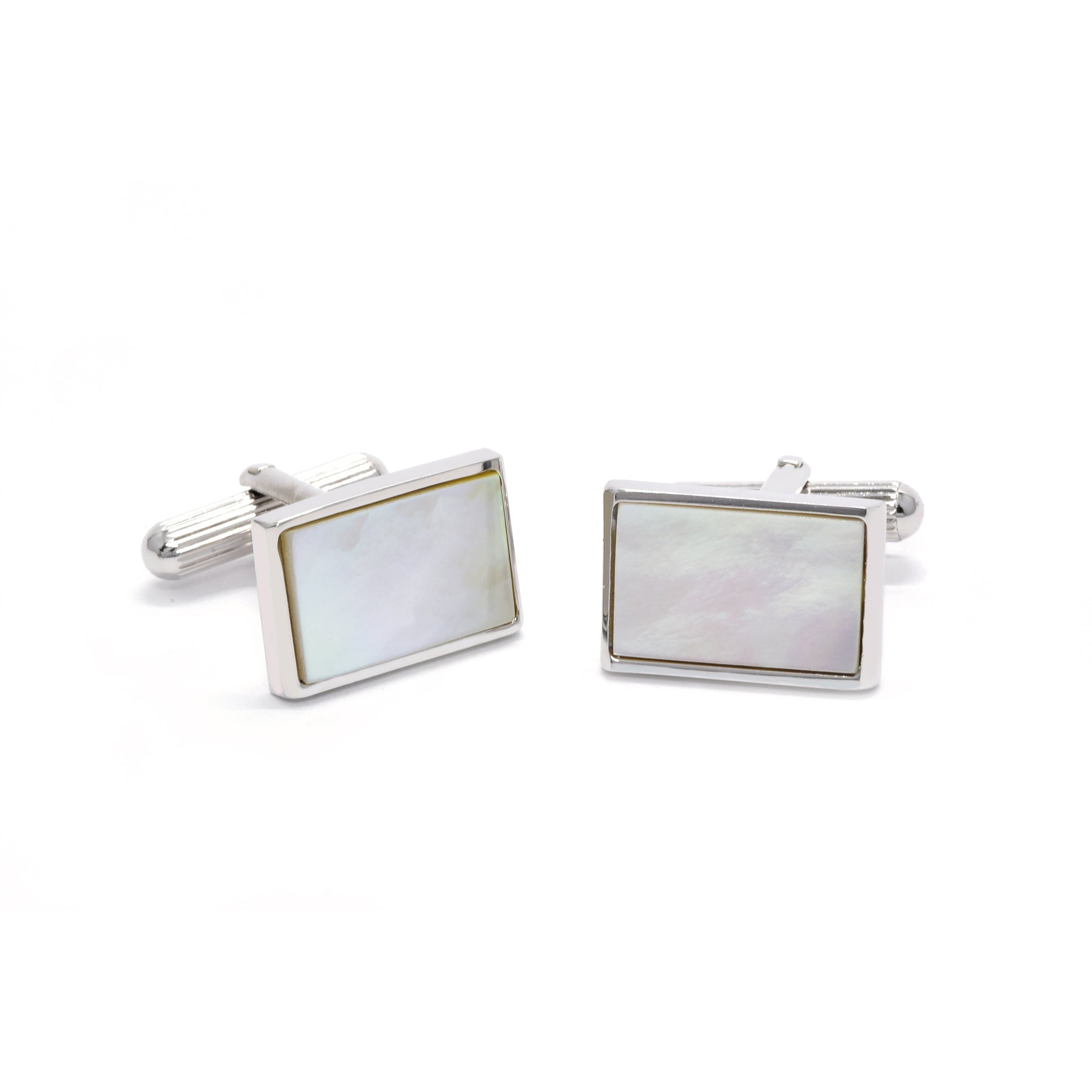 Xavier Cufflinks with Mother of Pearl - Giorgio Mandelli® Official Site | GIORGIO MANDELLI Made in Italy