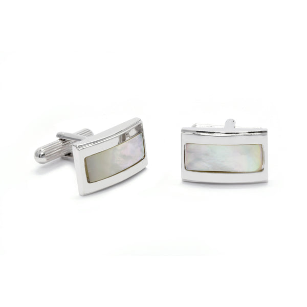 Benedict Cufflinks with Mother of Pearl - Giorgio Mandelli® Official Site | GIORGIO MANDELLI Made in Italy