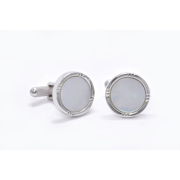 Vincent Cufflinks with Mother of Pearl - Giorgio Mandelli® Official Site | GIORGIO MANDELLI Made in Italy