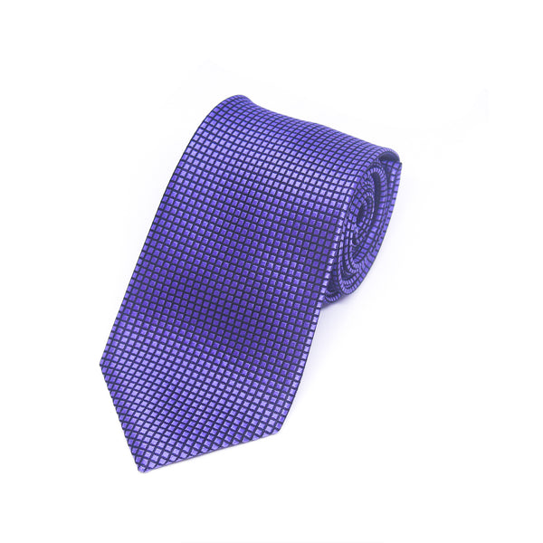 Printed Wyatt Tie in Purple
