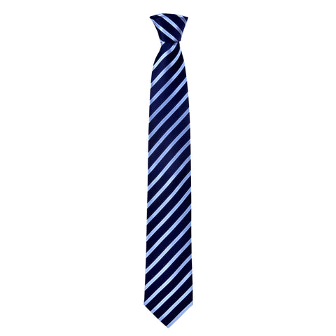 Lined Morgan Tie in Blue - Giorgio Mandelli