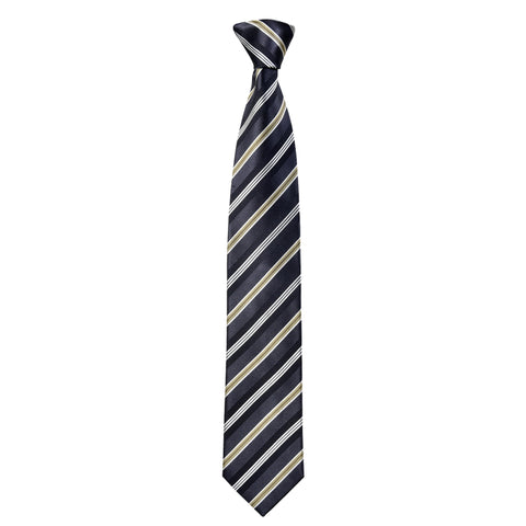 Lined Gordon Tie in Grey - Giorgio Mandelli