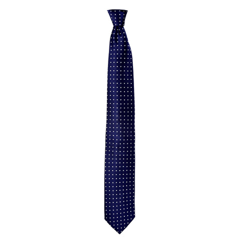 Spotted Whitford Tie in Navy Blue - Giorgio Mandelli® Official Site | GIORGIO MANDELLI Made in Italy