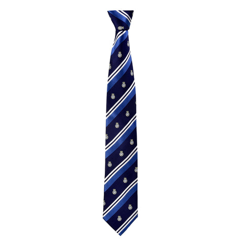 Printed Lane Tie in Navy Blue - Giorgio Mandelli® Official Site | GIORGIO MANDELLI Made in Italy