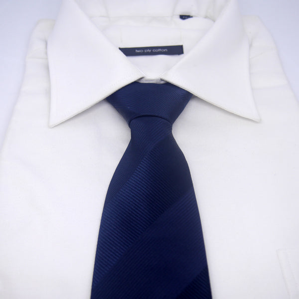 Textured Ajax Tie in Navy Blue - Giorgio Mandelli® Official Site | GIORGIO MANDELLI Made in Italy