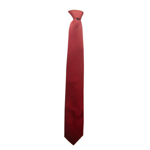 Printed Wyatt Tie in Red