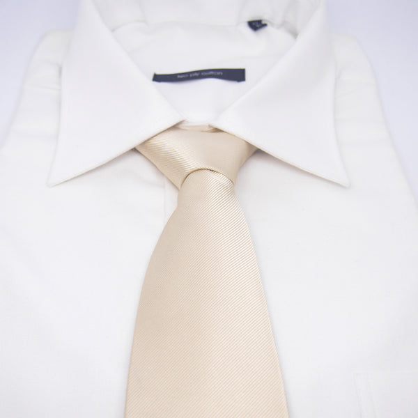 Rodney Tie in Cream - Giorgio Mandelli® Official Site | GIORGIO MANDELLI Made in Italy