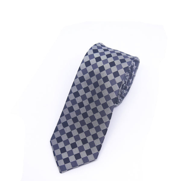 Skinny Printed Ford Tie in Grey - Giorgio Mandelli® Official Site | GIORGIO MANDELLI Made in Italy