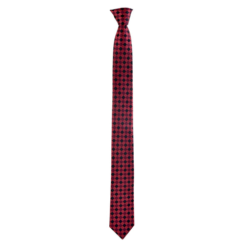 Skinny Printed Ford Tie in Red - Giorgio Mandelli® Official Site | GIORGIO MANDELLI Made in Italy