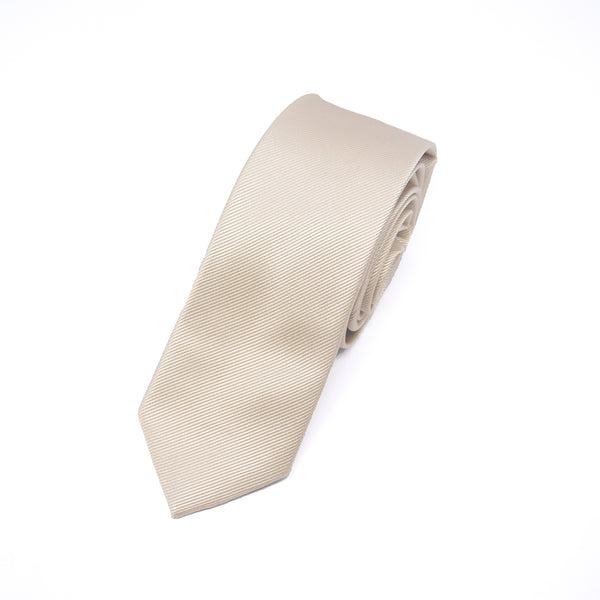 Skinny Oswald Tie in Cream - Giorgio Mandelli® Official Site | GIORGIO MANDELLI Made in Italy