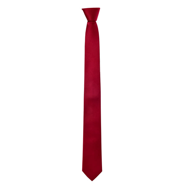 Skinny Oswald Tie in Red - Giorgio Mandelli® Official Site | GIORGIO MANDELLI Made in Italy