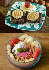 Smoothie Bowls & Healthy snacks