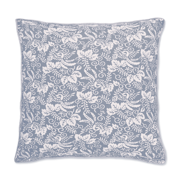 Kyoto Cool Grey Cushion Cover, Small