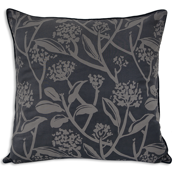Frangipani Stormy Deep Cushion Cover, Medium - SALE HOMEWARES
