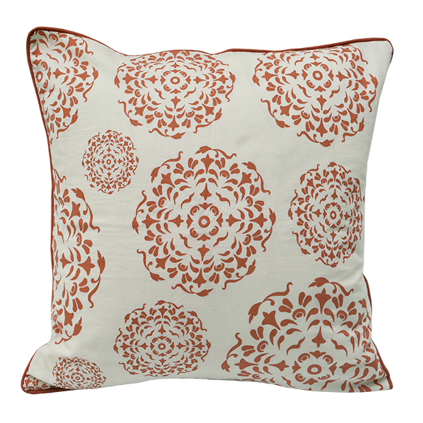 Mandala Spice Cushion Cover, Medium