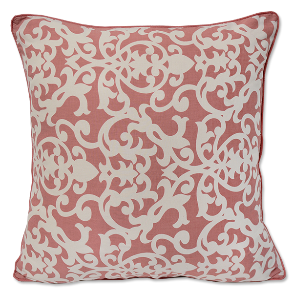 Frangipani Blush Cushion Cover, Med/Large