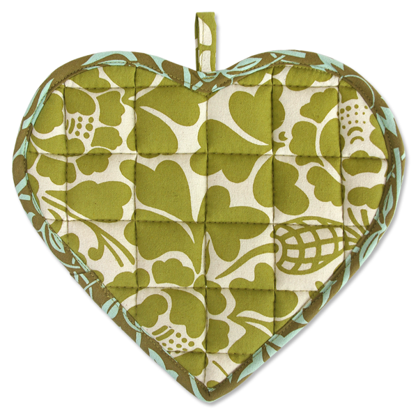 Spring Sweetheart Pot Holder
