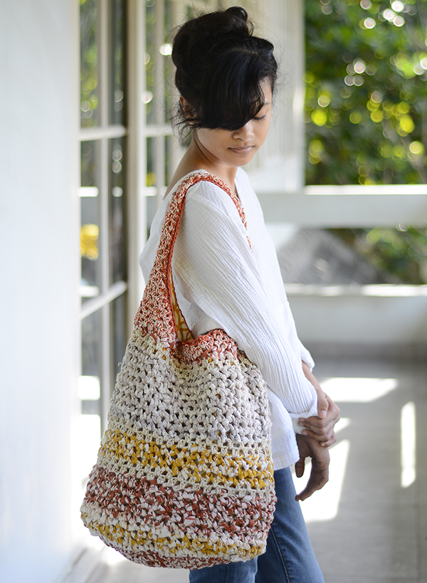 Sunshine Crocheted Summer Beach Bag