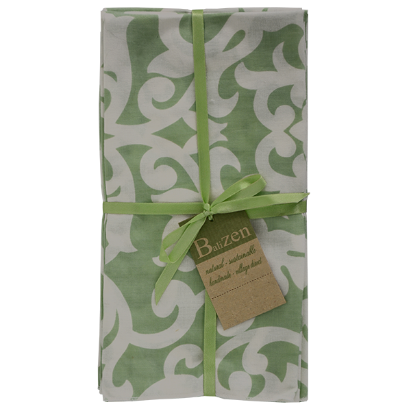 Florence Pistachio Napkins set of 4 - SALE HOMEWARES
