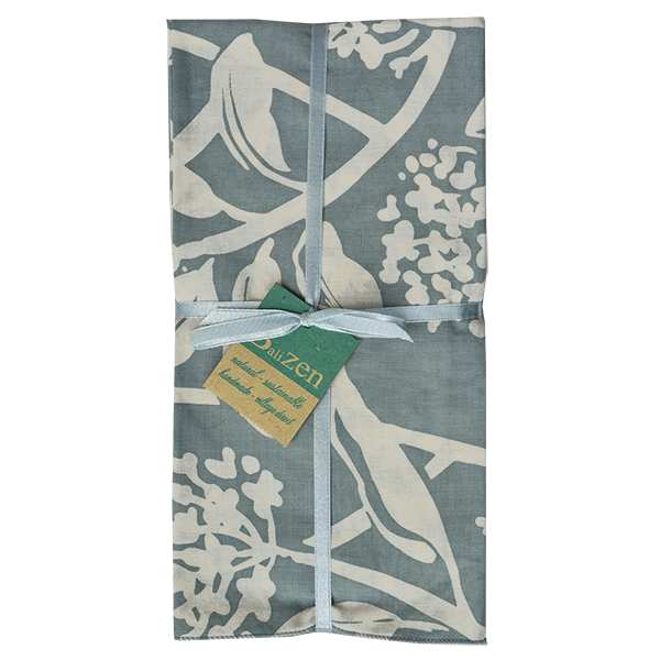 Frangipani Cool Grey Napkins set of 4