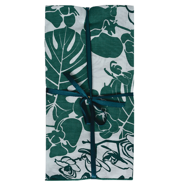 Orchid Emerald Napkins set of 4