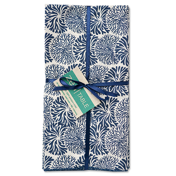 Tumbleweed Indigo Napkins set of 4
