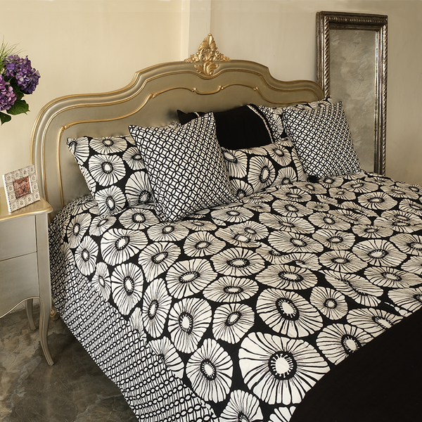Black & White Duvet Cover in 2 Sizes