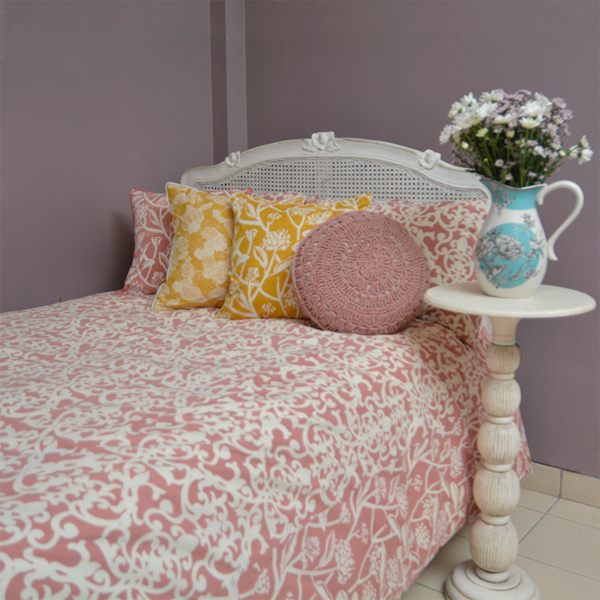 Blush Duvet Cover, in 2 sizes