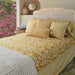 Frangipani Turmeric Duvet Cover, in 2 sizes