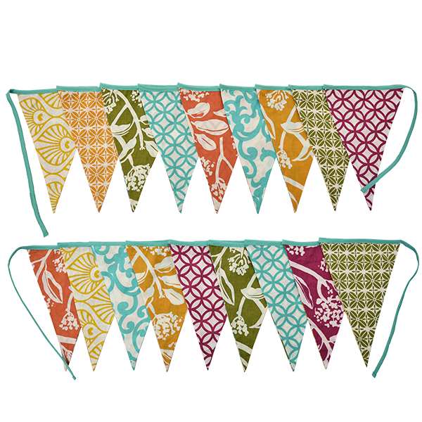 Tuti Fruity Bunting Flag Banner