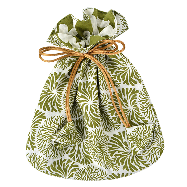 Tumbleweed Avocado Drawstring Bag, Small