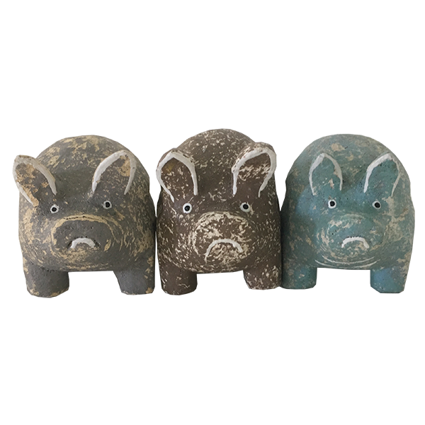 Small Pigs, Set of 3
