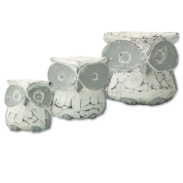 Tiny Owls, Set of 3