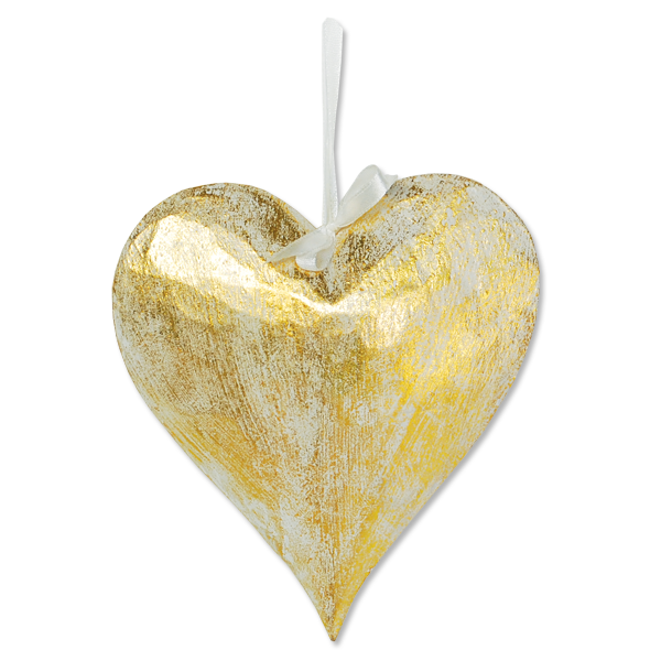 Big Gold Heart Ornament