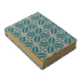 Mini Fabric covered journal - Teal