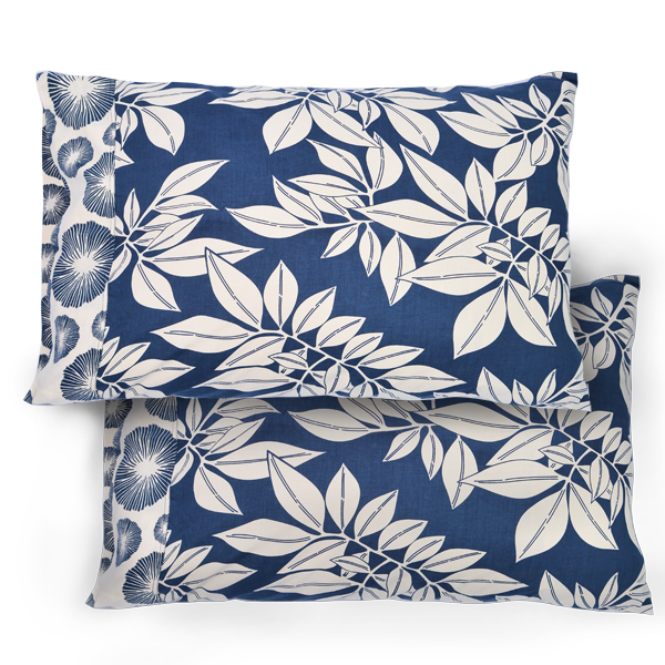 Indigo Standard Pillow Cases