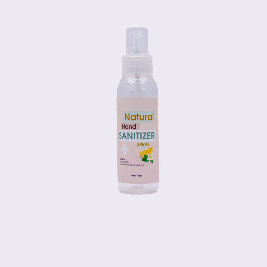 Natural Spray Hand Sanitizer, 5 sizes