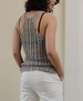 Crochet Lacy Tank, one size - SALE CLOTHING & KIDS